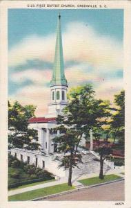First Baptist Church, Greenville, South Carolina, PU-1945