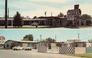 CALDWELL, Idaho ID   FRONTIER MOTEL  Roadside  CANYON COUNTY  ca1960's Postcard