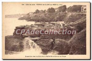 Postcard Ancient Pornic Le Clion Sur Mer