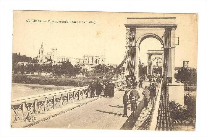 Avignon , France , 00-10s : Pont Suspendu