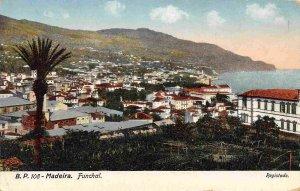 Panorama Funchal Madeira Portugal 1910c postcard