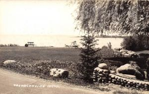 D19/ Wequetonsing Michigan Mi Real Photo RPPC Postcard c30s Lake Shore Swing