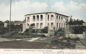 LOURENCO MARQUES, Mozambique, 1900-1910's; Residence , H.B.M