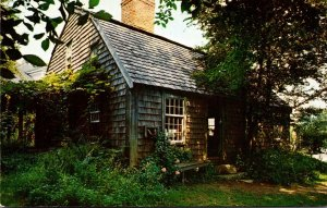 Massachusetts Plymouth William Harlow House Built 1677 Sandwich Street