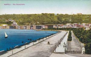 Via Caracciolo, Napoli (Campania), Italy, 1900-1910s