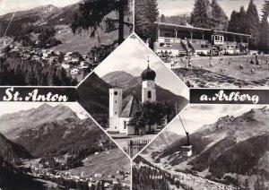 Austria St Anton Am Arlberg 1965 Real Photo