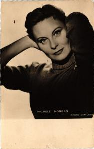 CPA MICHELE MORGAN . Film Star Cinema (465544)