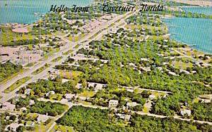 Florida Hello From Tavernier Aerial View In The Florida Keys