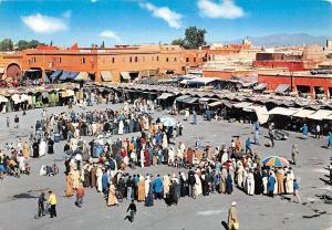 Morocco, Maroc, Marrakech, La Place Djemaa El F'na, Square