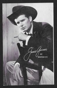 ARCADE CARD Cowboy Entertainer James Garner