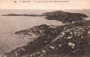 Vue General Prise de la Moyenne Corniche,Beaulieu,France BIN