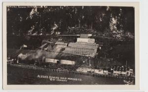Alaska Ak Postcard JUNEAU Real Photo RPPC GOLD MINING COMPANY Mine c1910-30