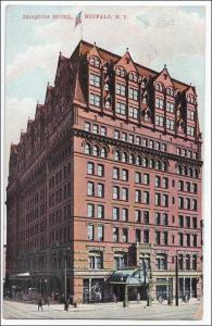 Iroquois Hotel, Buffalo NY