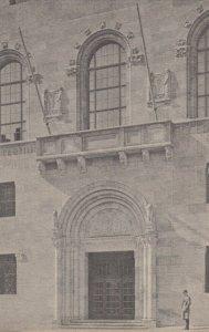 NEW YORK CITY, New York, 1900-10s; Main Entrance, Academy of Medicine