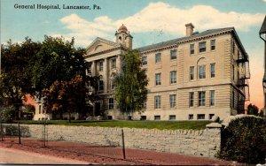 Pennsylvania Lancaster General Hospital 1916 Curteich