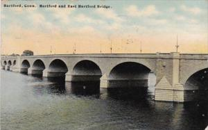 Connecticut  Hartford and East Hartford Bridge 1910