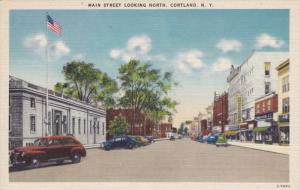 Main Street , North , CORTLAND , New York , 30-40s