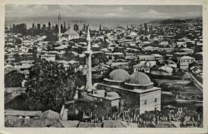macedonia, SKOPJE Скопје, Partial View with Mosque, Islam (1920s)