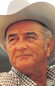 Lyndon B. Johnson, USA President Unused