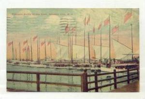 Pleasure Boats In Inlet,Atlantic City,New Jersey,00-10s