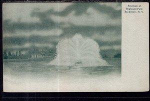 Fountain at Highland Park,Rochester,NY