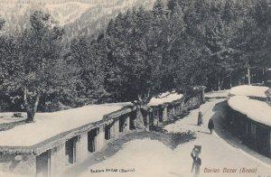 BARIAN , India , 1900-10s ; Bazar in Winter