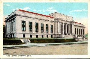 Connecticut Hartford State Library Curteich