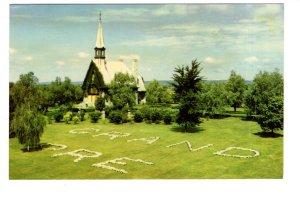 Church of St Charles, Grand Pre, Nova Scotia, Stone Letters