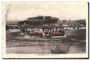 Old Postcard Bitche Vue Generale