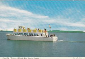 Cruiseship WELCOME , THUNDER BAY , Ontario, Canada 1960-80s
