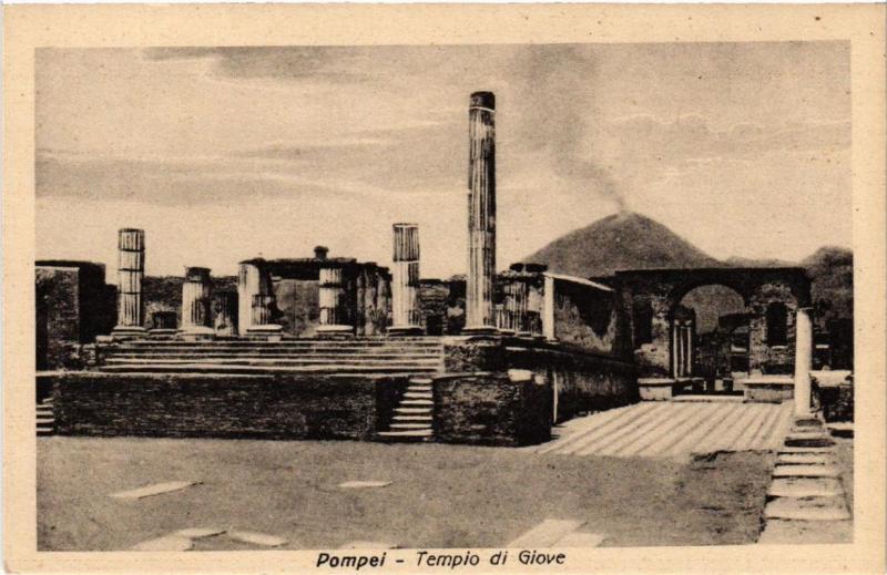CPA AK POMPEI Tempio di Giove ITALY (527309)