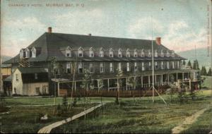 Murray Bay Quebec Chamard's Hotel c1910 Postcard