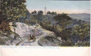 TUCK 2176, Government Blvd on Crest of Missionary Ridge. Chattanooga, Tenness...