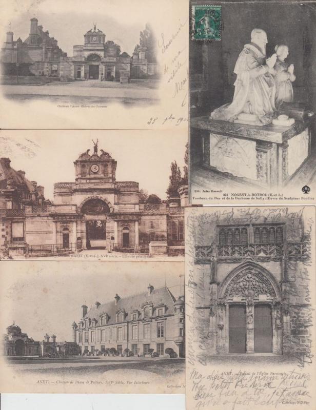 ANET EURE-ET-LOIR (DEP.28) CENTRE 70 Cartes Postales 1900-1940