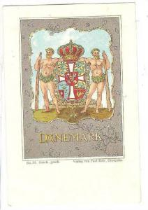 Coat Of Arms, Denmark, 1890s