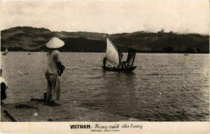 CPA AK INDOCHINA Vietnam Paysage Nhatrang VIETNAM (956893)