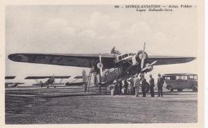 ISTRES-AVIATION - Avion Folker - Ligne Hollande-Java , 1920-30s