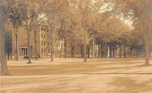 Waterville ME Colby College Campus C. A. Townsend Real Photo Postcard