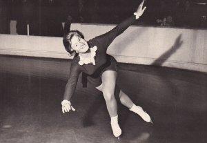 RP: Figure Skater SJOUKJE DIJKSTROVA (Holandsko) 1960s(2)