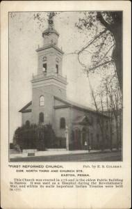 Easton PA First Reformed Church c1905 Postcard