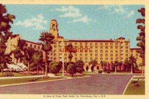 A VIEW OF VINOY PARK HOTEL. ST. PETERSBURG, FL