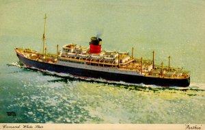 White Star Line - Parthia. Artist: Walter Thomas