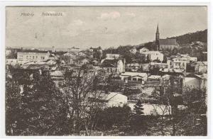 Panorama Misdroy Miedzyzdroje Poland 1910 postcard
