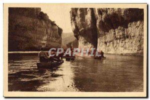 Old Postcard The Tarn Gorges The Detroits