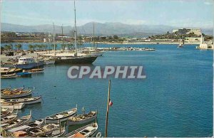 Modern Postcard The wonderful sights of the French Riviera Antibes (A M) a po...