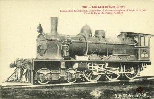 china, Chinese Steam Train, Pieulo Railway Line, Locomotive Compound (1910s)