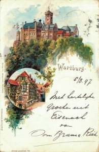 Germany - Wartburg Wieprecht 1897 - Litho 03.51