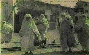 Algeria Scenes et Types Mauresques Postcard