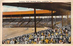 Parkway Field, Baseball Park Louisville, Kentucky, KY, USA 1927