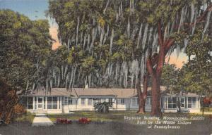 Moosehaven Florida Keystone Bldg Lodge Of PA Antique Postcard K102448